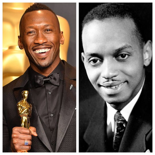 "Academy Award winner Mahershala Ali (left) portrays Pensacola native and musician Don Shirley (right) in the hit movie ""Green Book"" which won Golden Globes for Best Picture (Musical or Comedy), Best Screenplay and for Ali (Best Supporting Actor)."