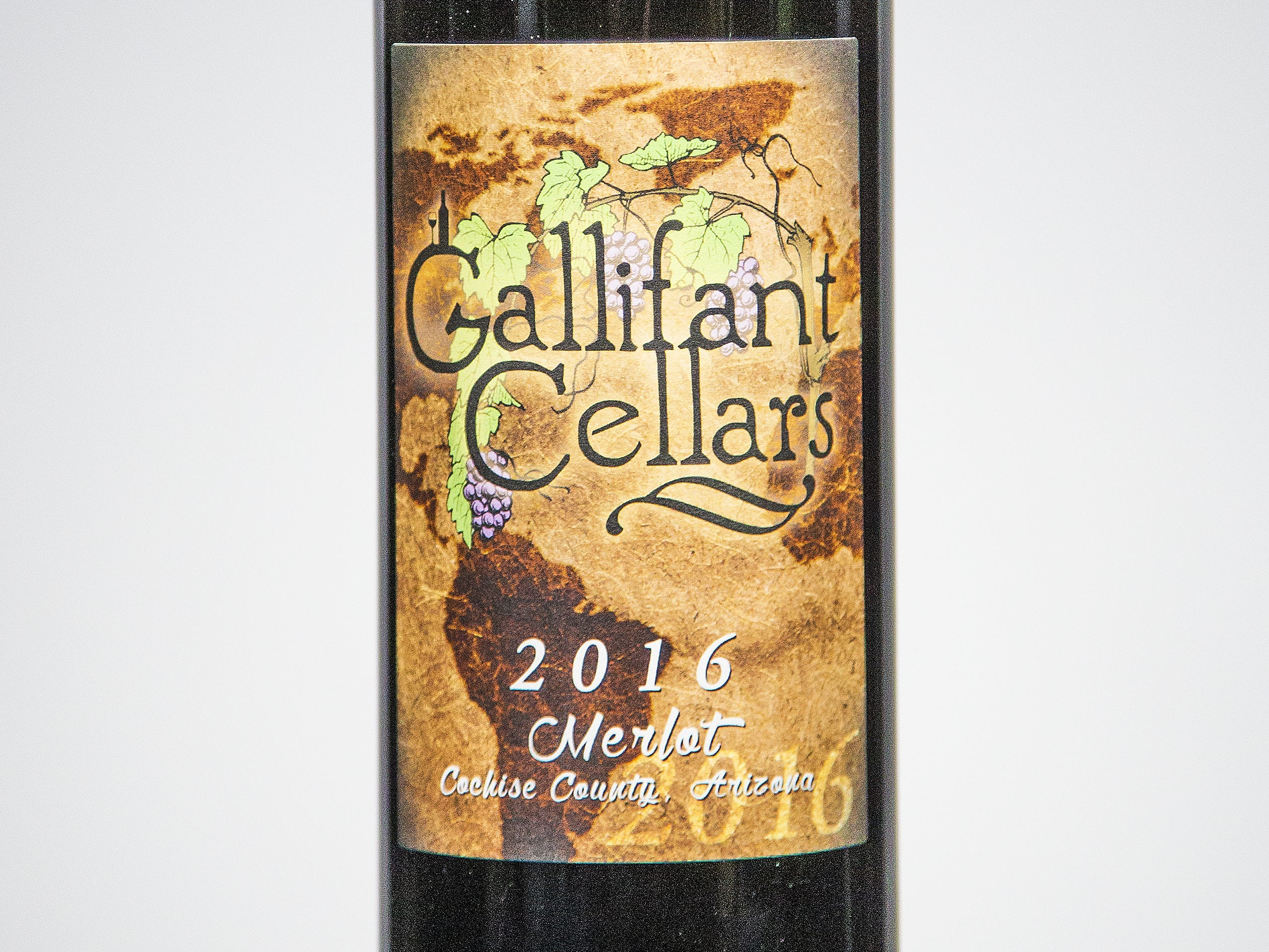 Best Merlot: Gallifant Cellars Merlot 2016.
