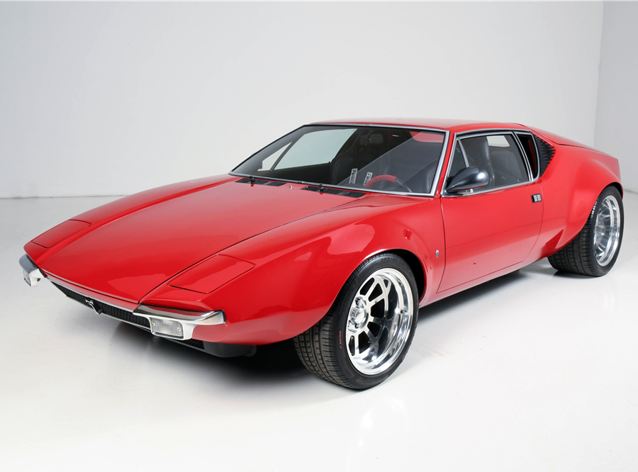 This 1971 De Tomaso Pantera Custom Coupe will be auctioned off at Barrett-Jackson in Scottsdale on Friday.