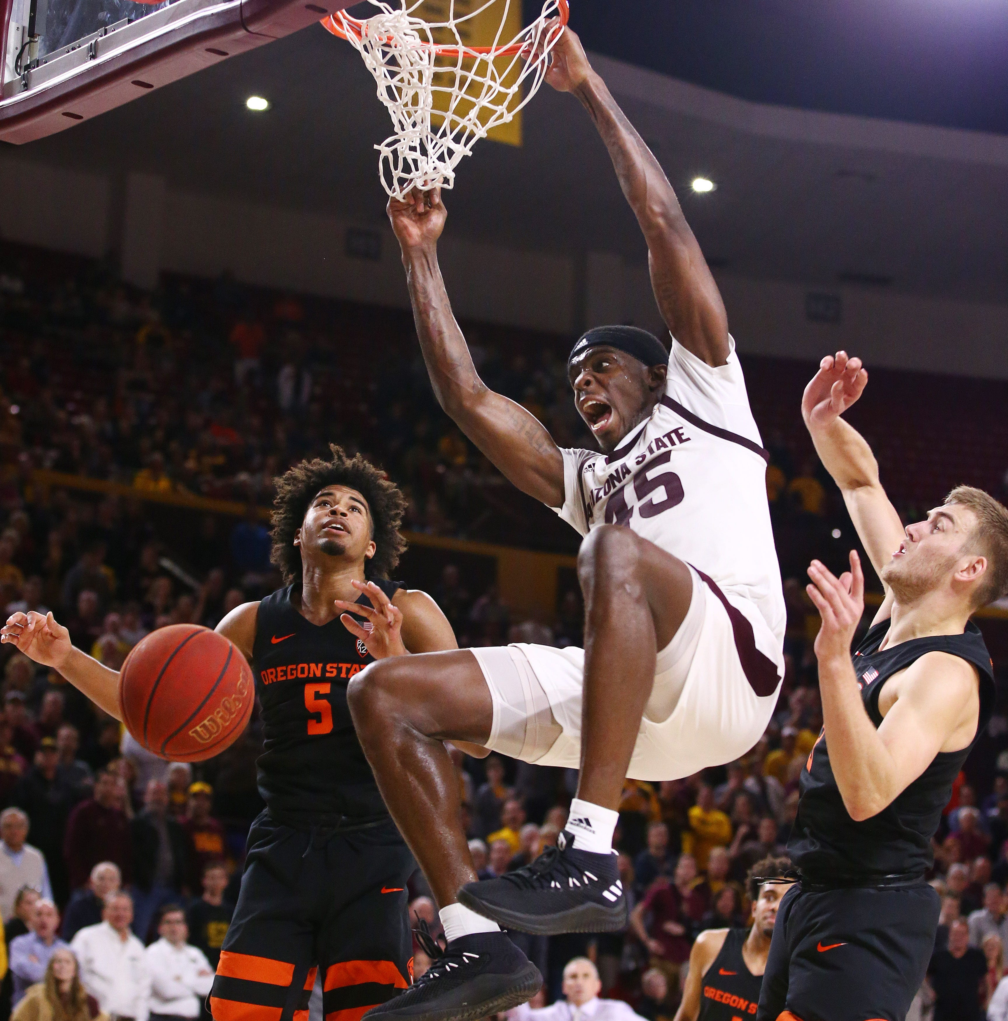 ASU overcomes mistakes, holds on to edge Oregon State