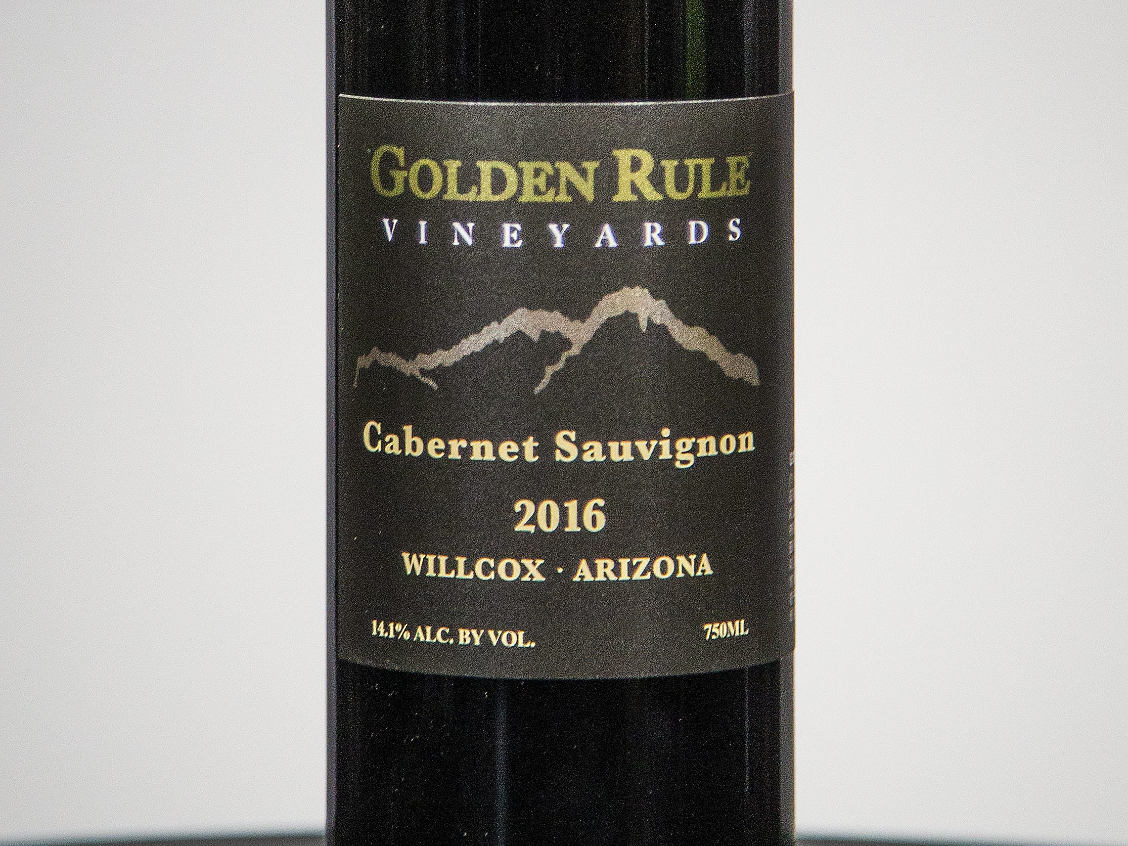 Best Cabernet Sauvignon: Golden Rule Vineyards  Cabernet Sauvignon 2016.