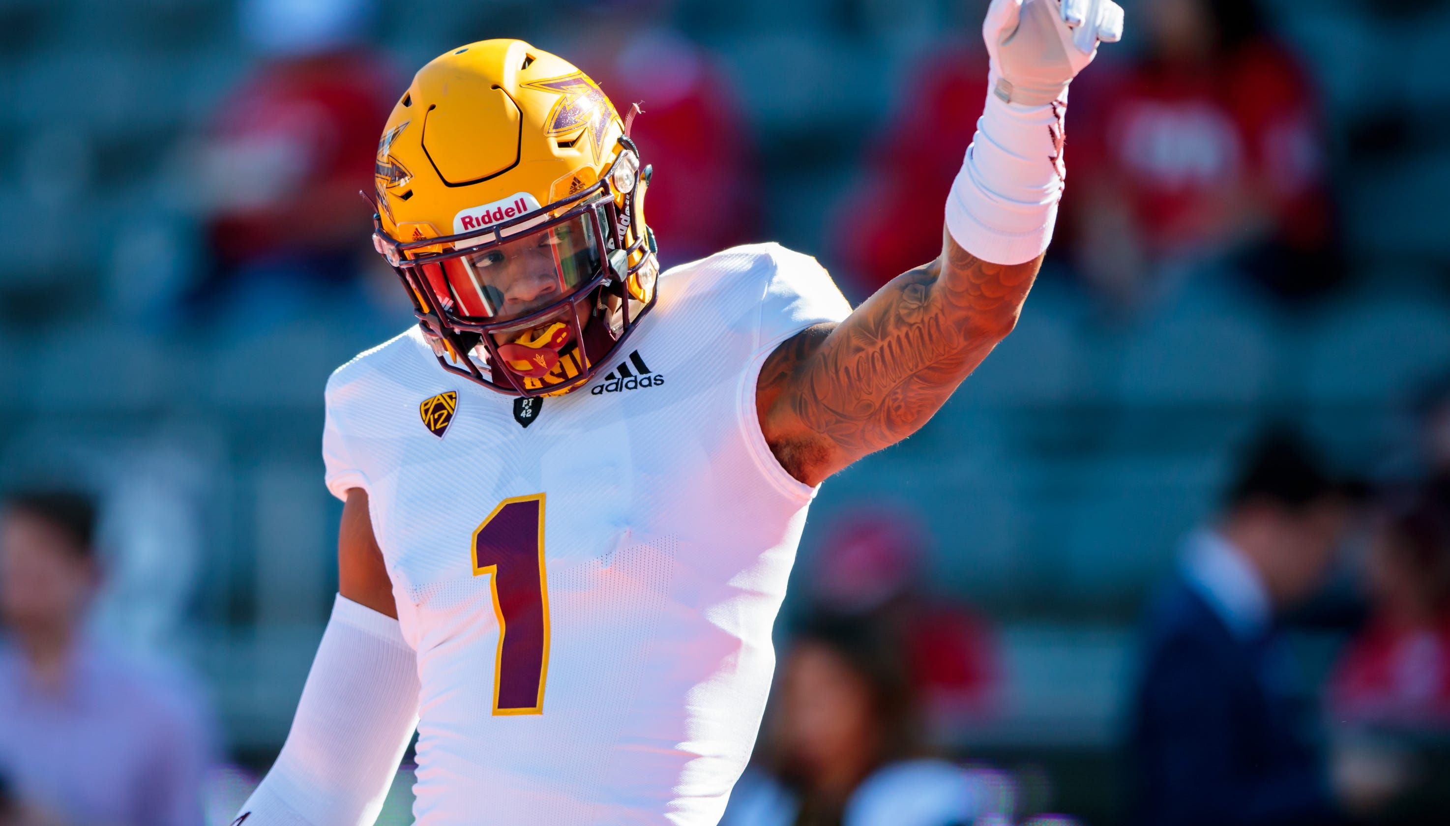 NFL mock draft  Could Arizona Cardinals get N Keal Harry in second round of NFL  draft  5683b1905
