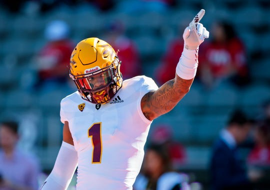 How would former Arizona State Sun Devils wide receiver N'Keal Harry look in an Arizona Cardinals uniform?