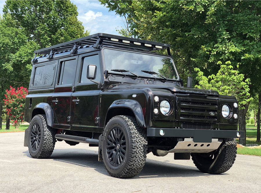 This 1983 Land Rover Defender 110 will be auctioned off at Barrett-Jackson in Scottsdale on Friday.