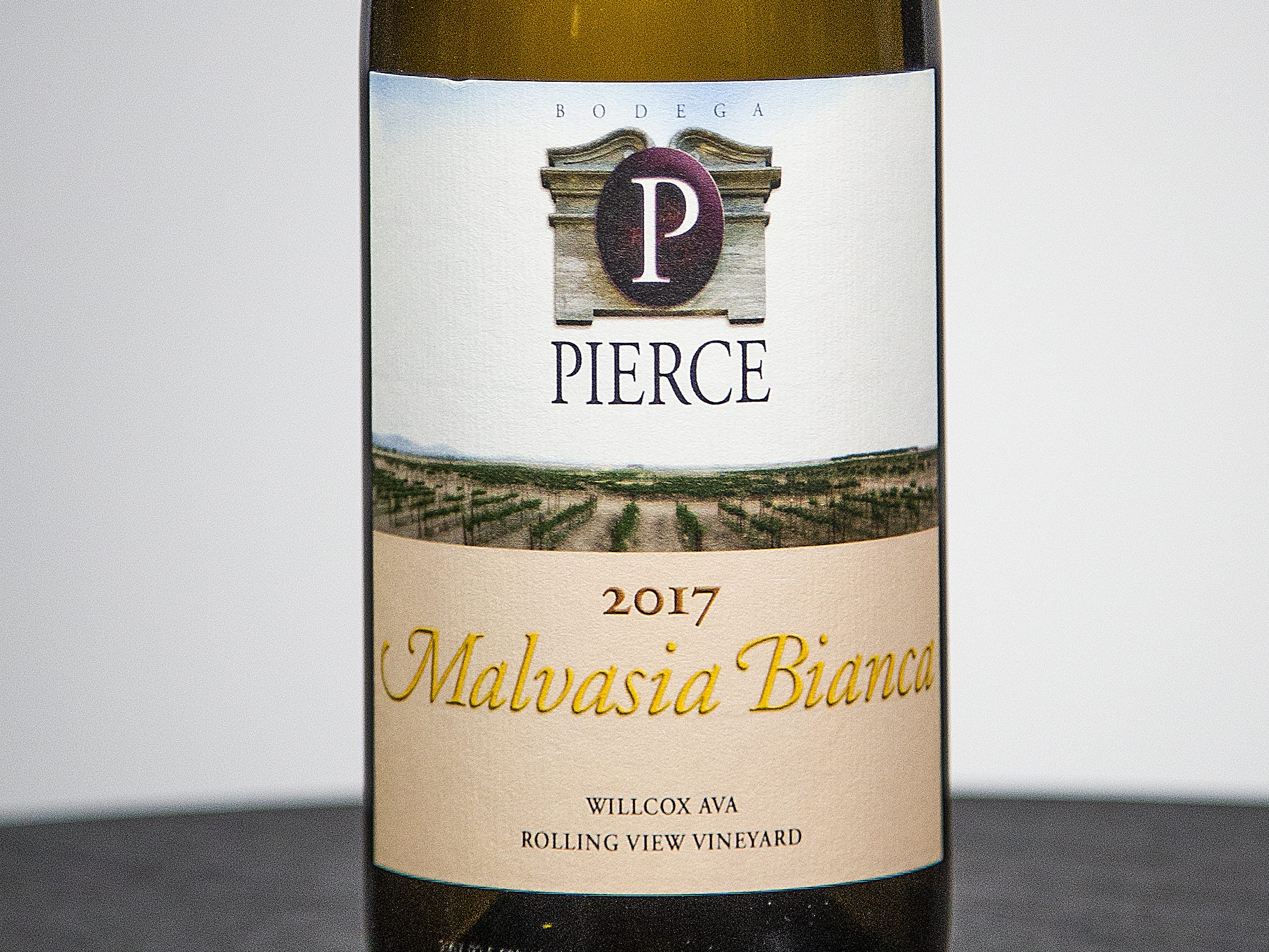 Best White Wine (tie): Bodega Pierce Malvasia Bianca 2017. This wine was also named  Best Malvasia Bianca.