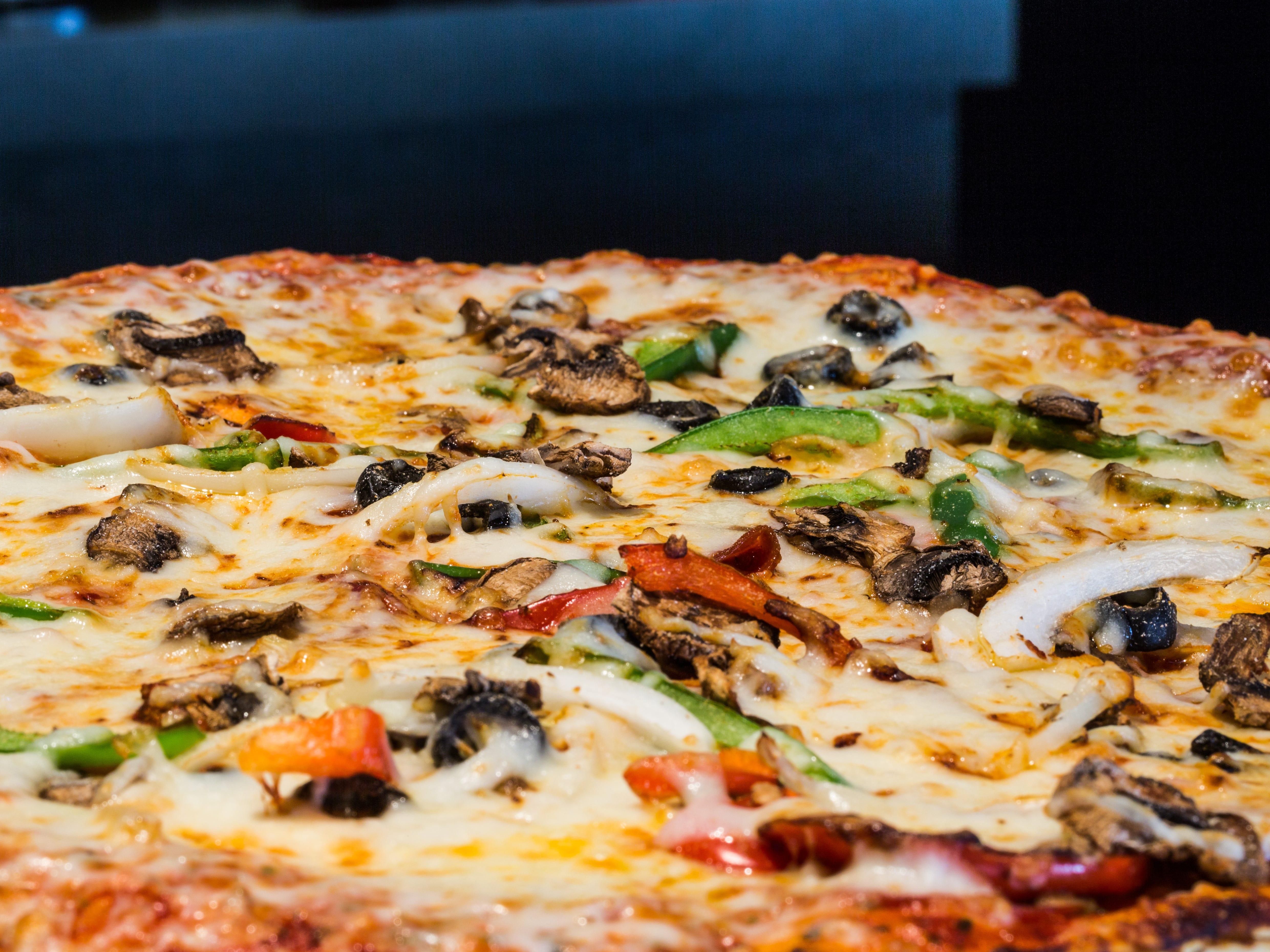 Pizza at Half Moon Windy City Sports Grill.