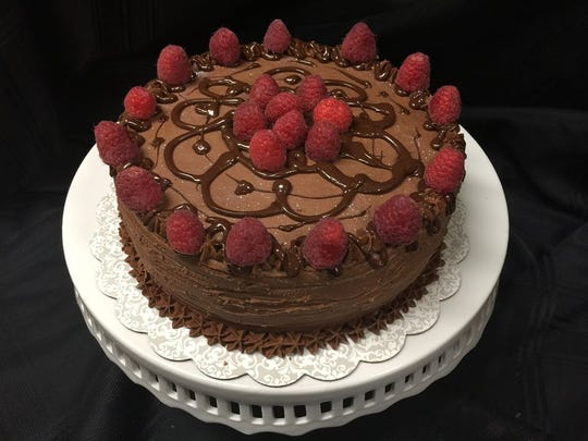 A vegan chocolate cake at My Gal Sal Bakery & Catering.