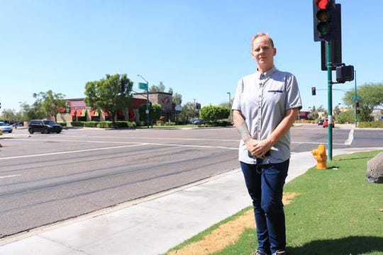 Meagan Hunter says she was forced to quit her job at Chili's.