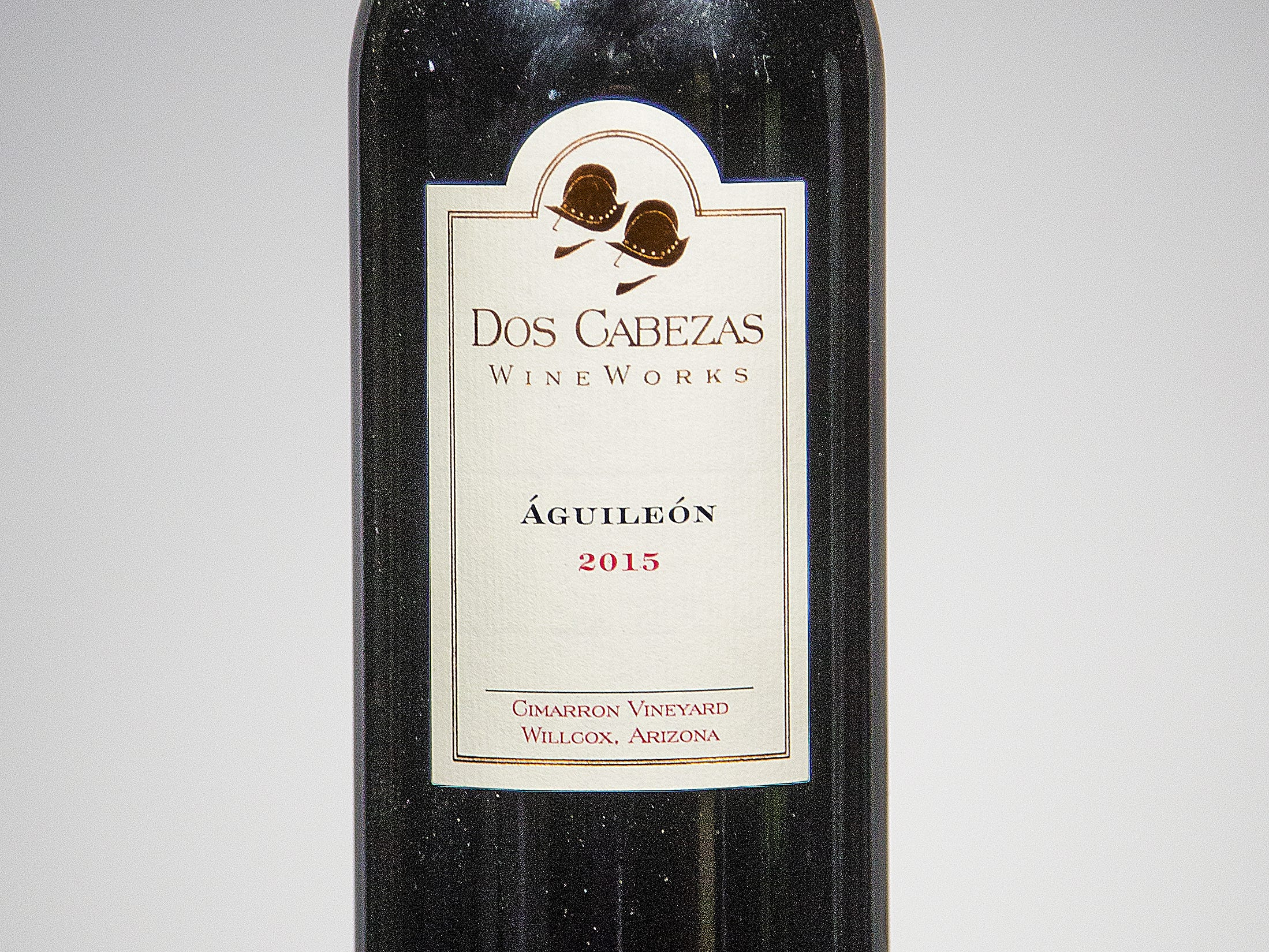 Judges named the Dos Cabezas WineWorks Aguileon 2015 as the Best In Show at the 2018 azcentral Arizona Wine Competition. The wine was also named Best Red Wine and Best Non-Traditional Red Blend.