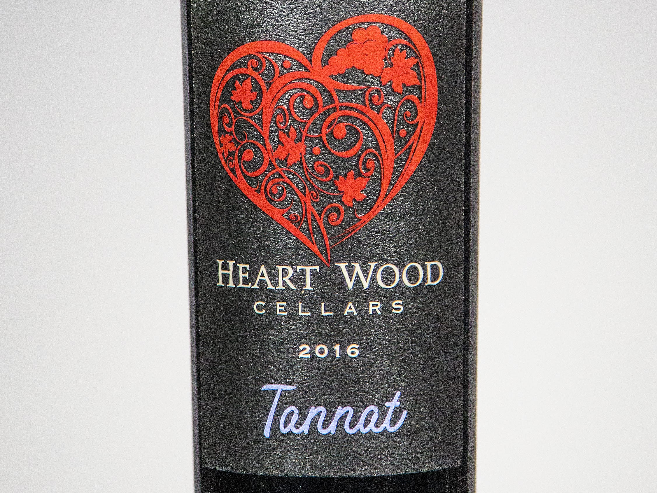 Best Tannat: Heart Wood Cellars Tannat 2016.