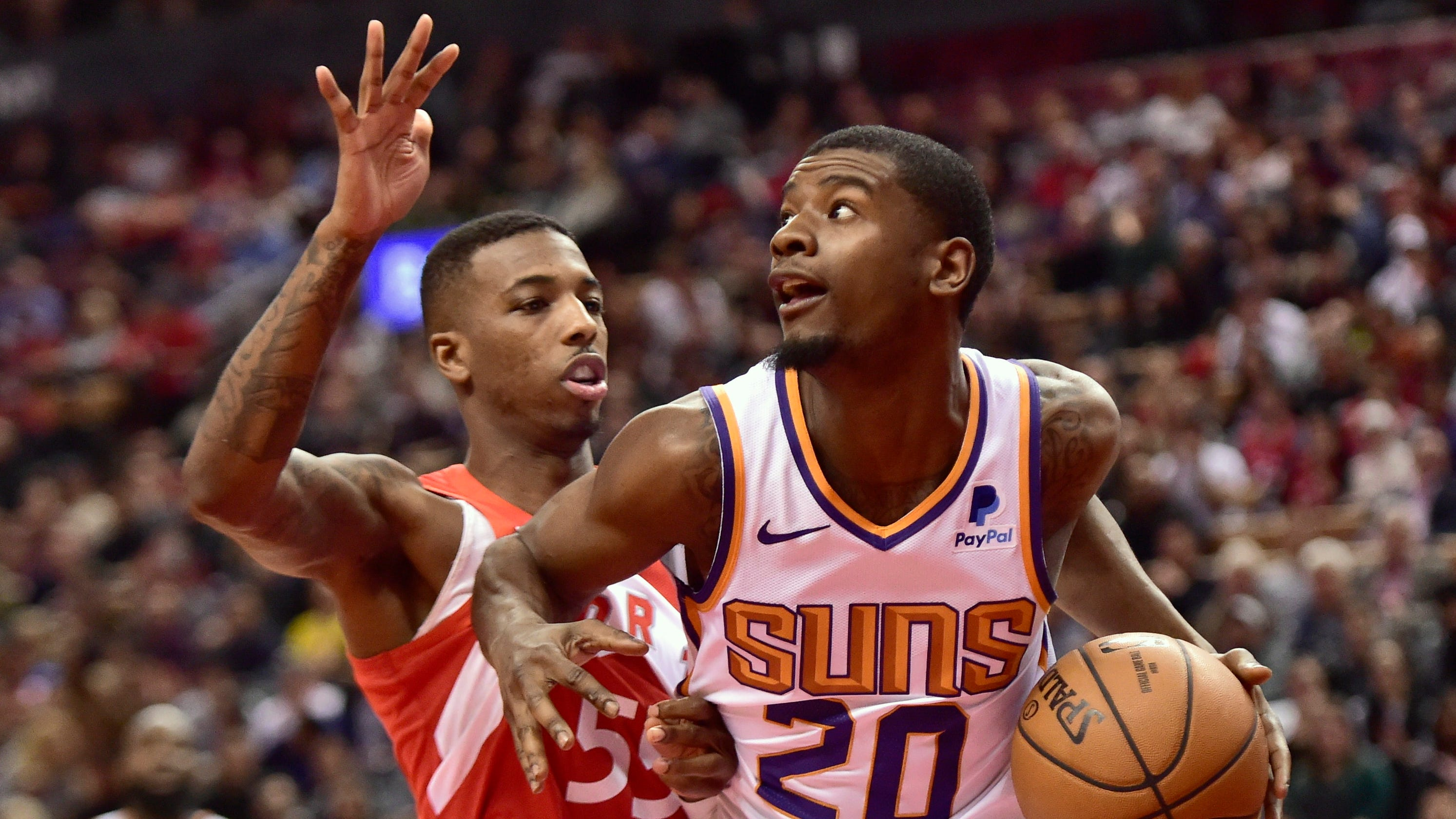 1738642e0 Suns  Josh Jackson s blows up on referees   Nobody is going to disrespect  me