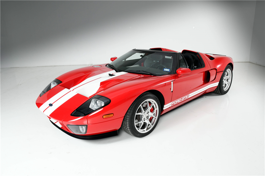 This 2005 Ford GTX-1 Roadster will be auctioned off at Barrett-Jackson in Scottsdale on Saturday.