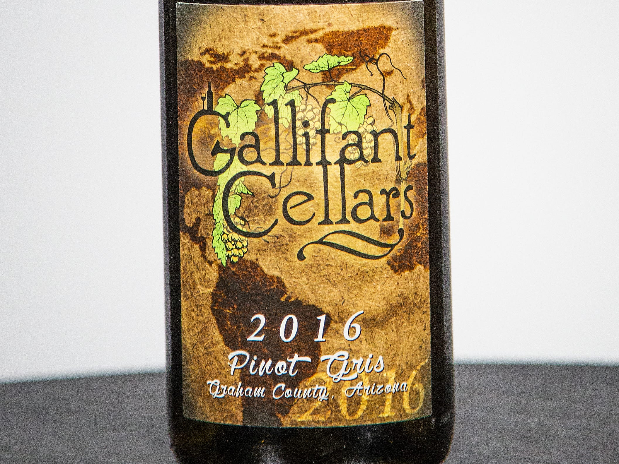 Best Pinot Grigio: Gallifant Cellars Pinot Gris 2016.
