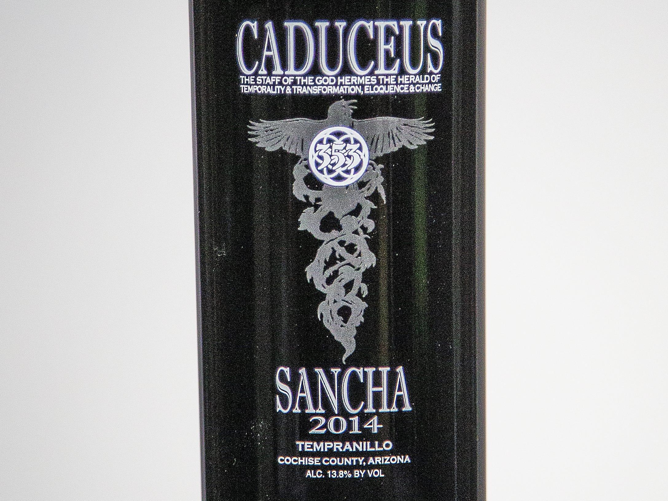 Best Tempranillo: Caduceus Cellars Sancha 2014.