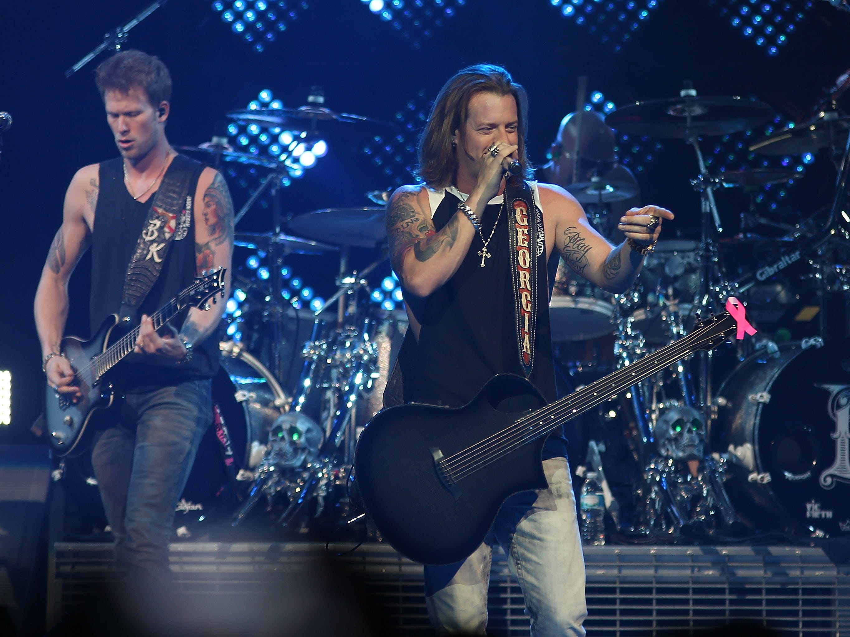 Florida  Georgia Line (Brian Kelley and Tyler Hubbard): Sept. 19, 2019.