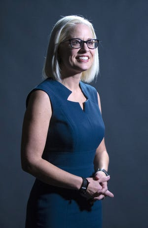 U.S. Sen. Kyrsten Sinema, D-Ariz., has co-sponsored legislation to stop lawmaker pay if Congress does not fund the government by Oct. 1, the start of its budget year.