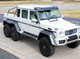This 2014 Mercedes-Benz G63 6X6 will be auctioned off at Barrett-Jackson in Scottsdale on Saturday.