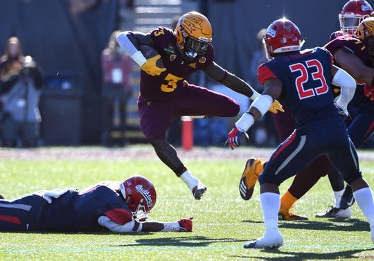 Arizona State running back Eno Benjamin is in the 2019 Heisman Trophy discussion.