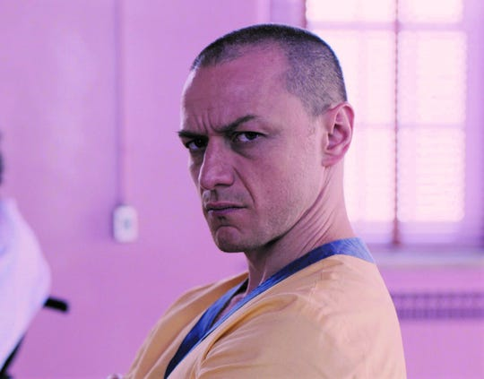 "James McAvoy stars in ""Glass."""