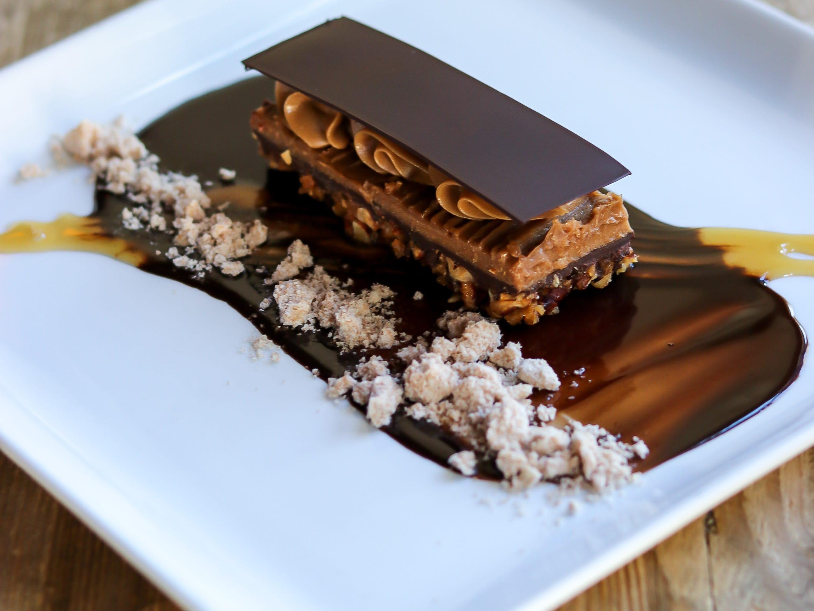 The dark chocolate truffle torte at Litchfield's.