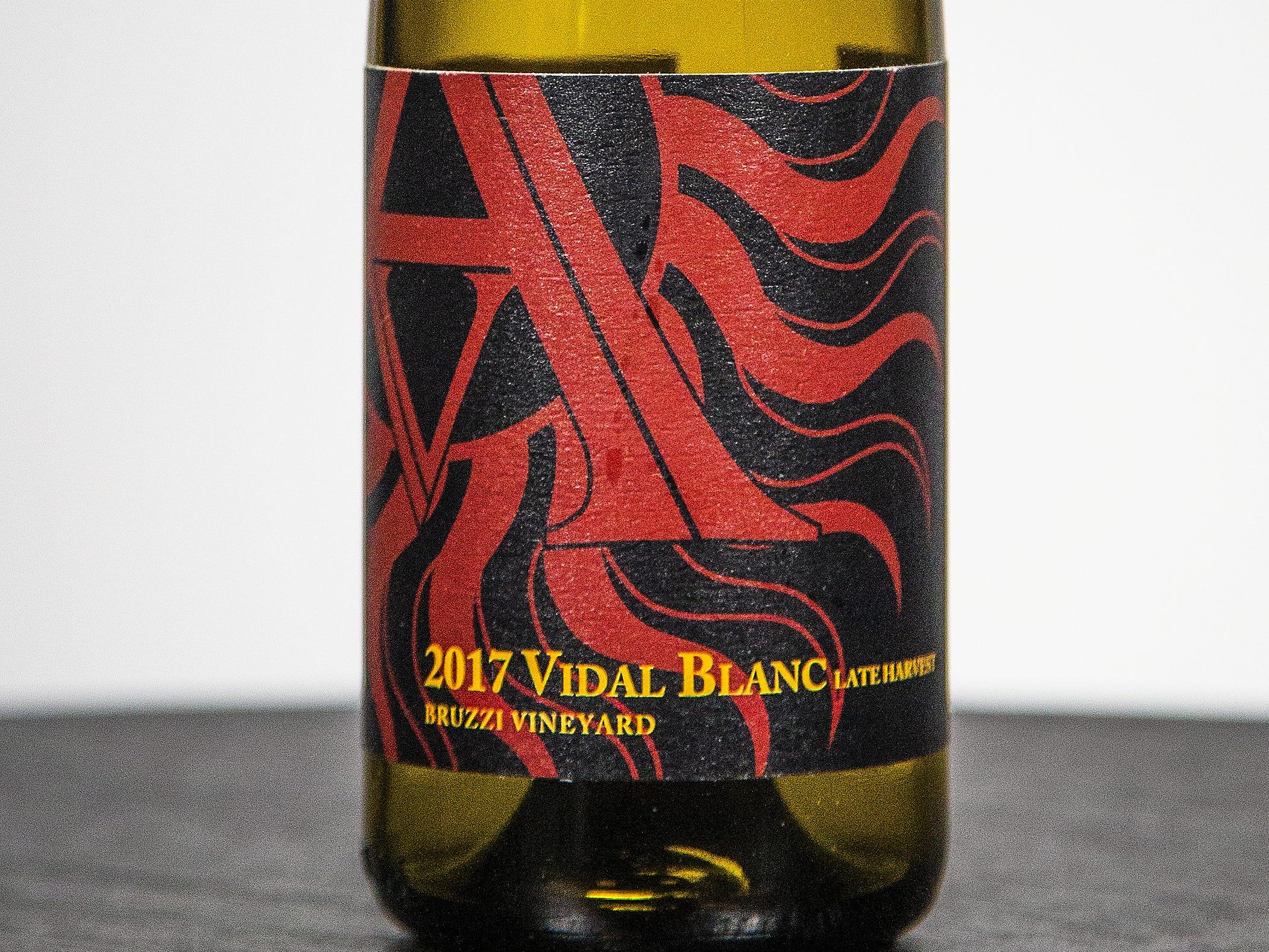 Best Dessert Wine: Arizona Stronghold Vineyards Late Harvest Vidal Blanc 2017. This wine was also named Best Late-Harvest Dessert Wine.