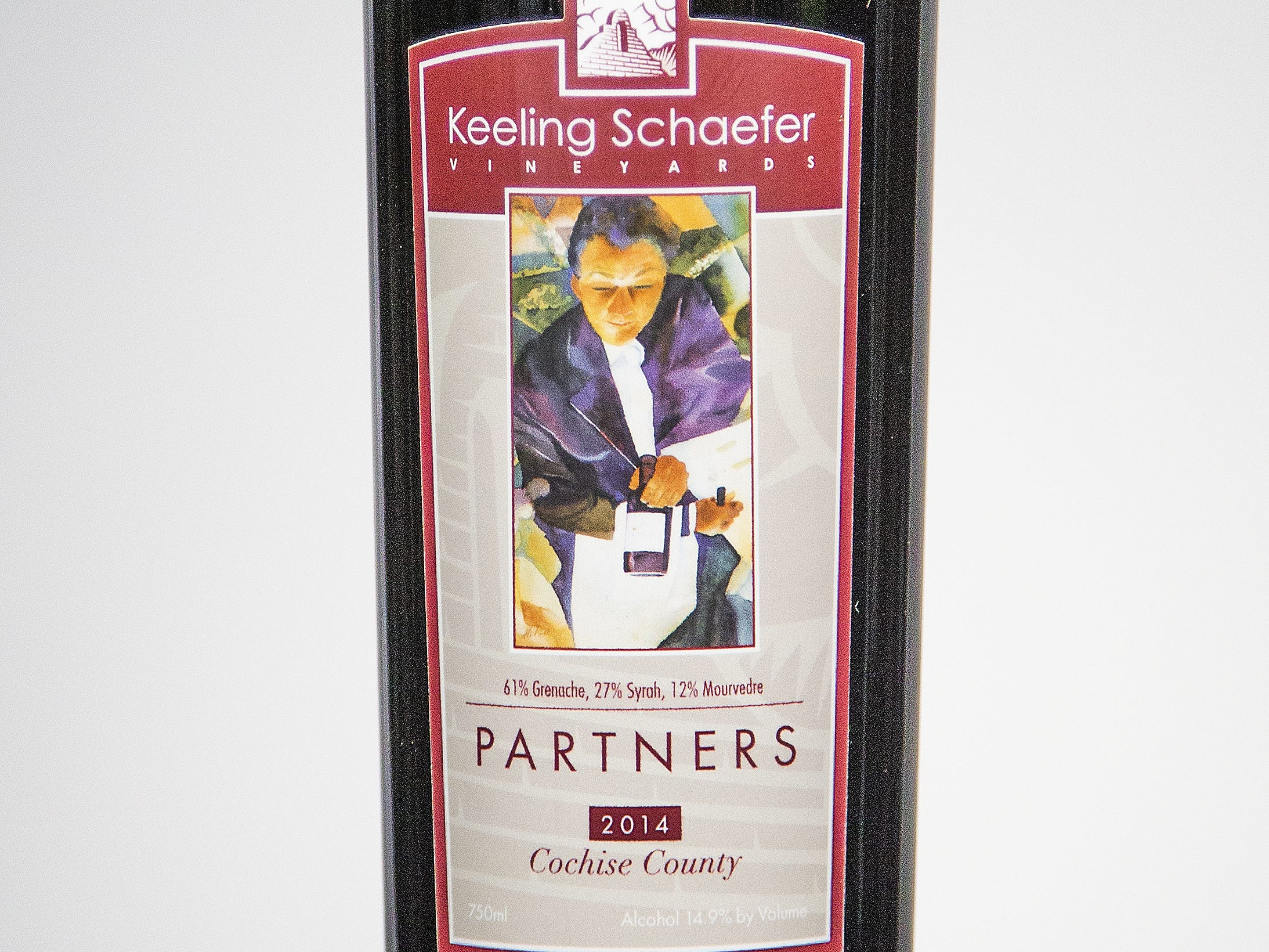 Best Rhone-style Blend: Keeling Schaefer Vineyards Partners 2014.