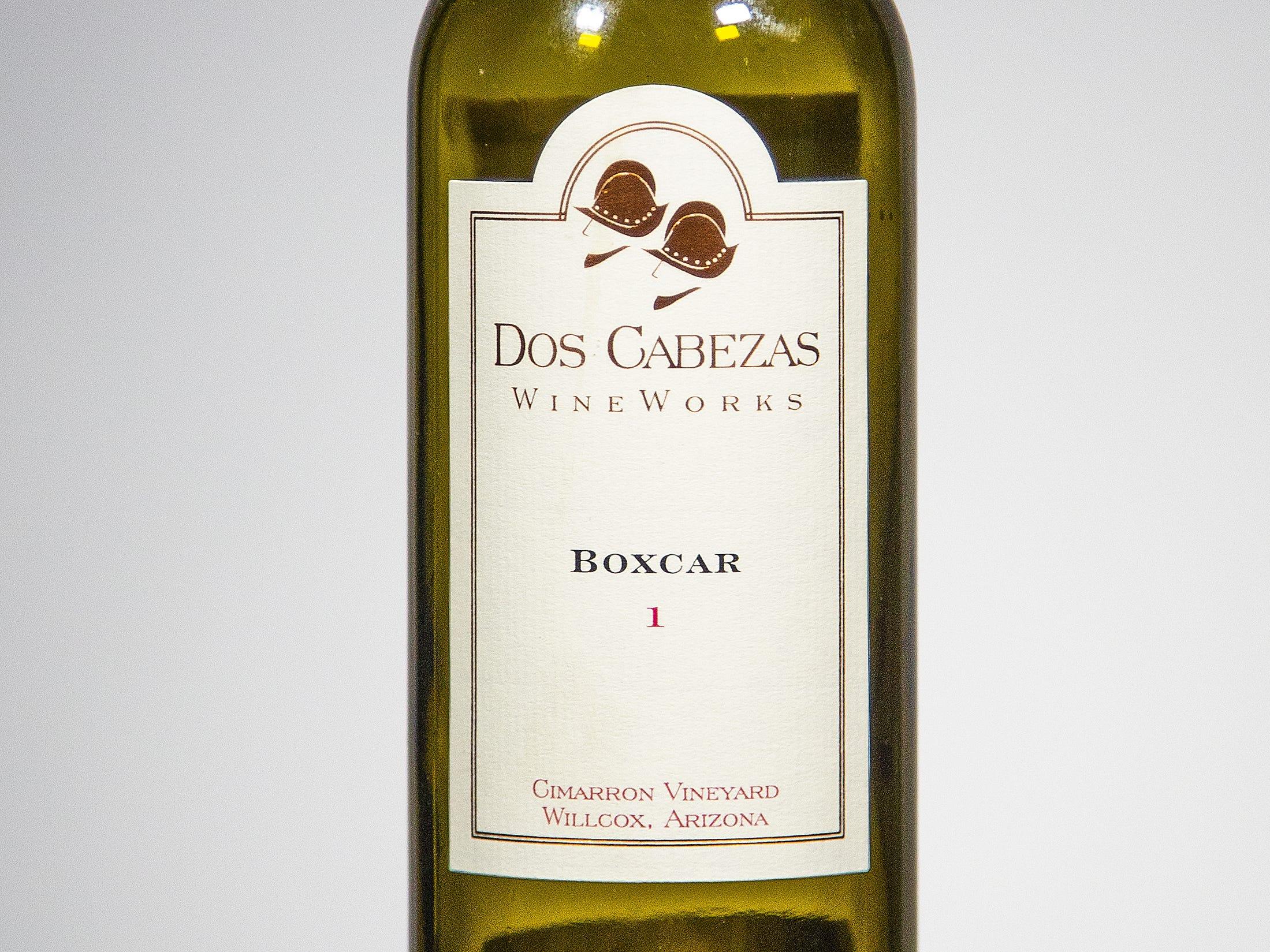 Best Port-style Dessert Wine: Dos Cabezas WineWorks Boxcar 1 non-vintage