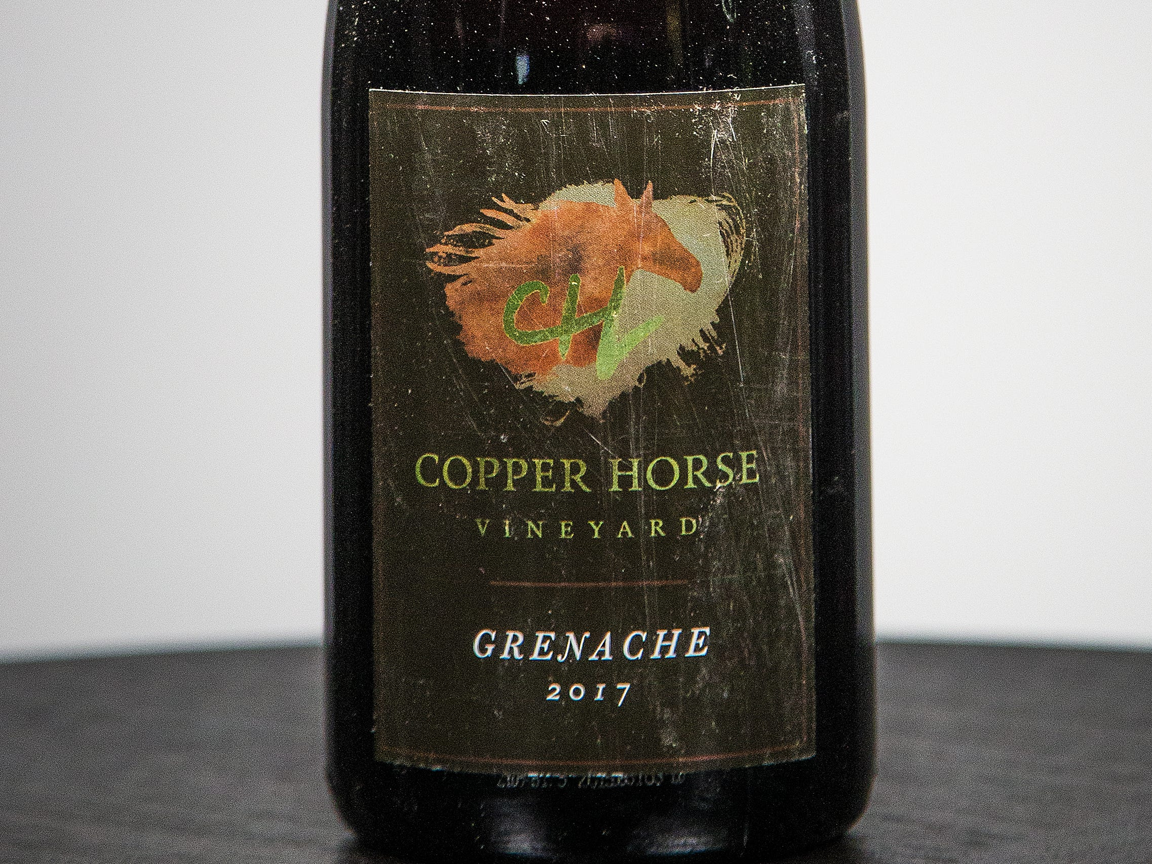 Best Grenache: Copper Horse Vineyard Grenache 2017.