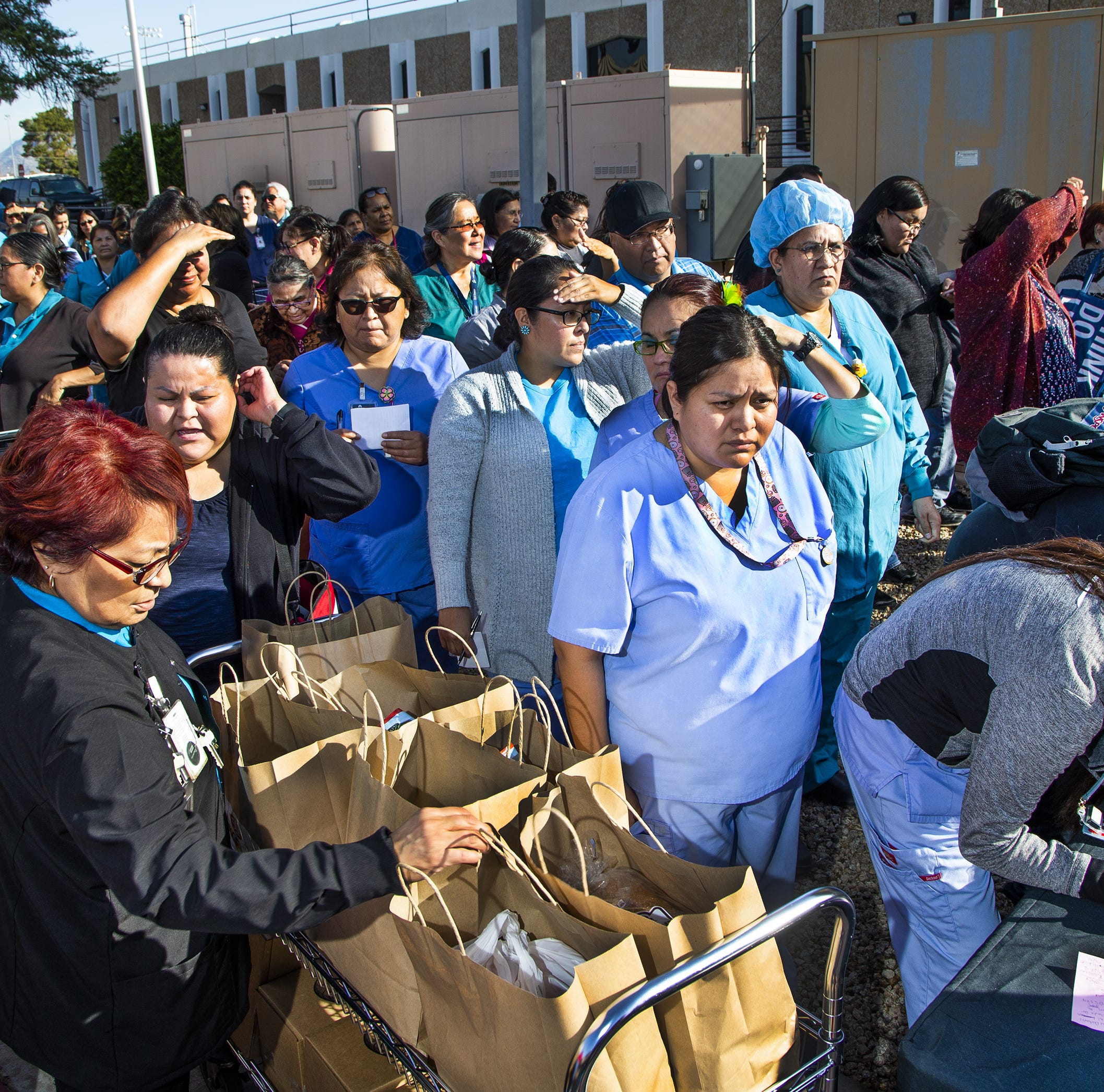 St. Mary's mobile pantry assists Phoenix Indian Medical Center employees during shutdown