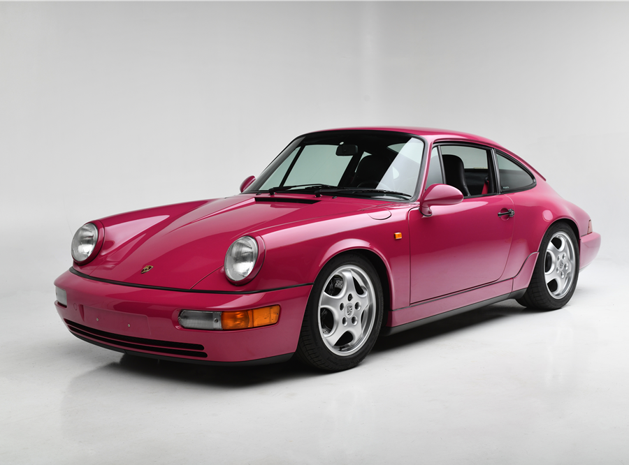 This 1992 Porsche 911 RS will be auctioned off at Barrett-Jackson in Scottsdale on Saturday.