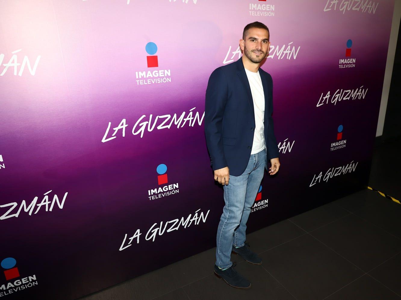 Sergio Lozano acudió a la presentación de La Guzmán. La producción, que se estrenará el lunes a las 21:30 horas por Imagen Televisión, retrata la historia de la hija de Silvia Pinal y Enrique Guzmán.