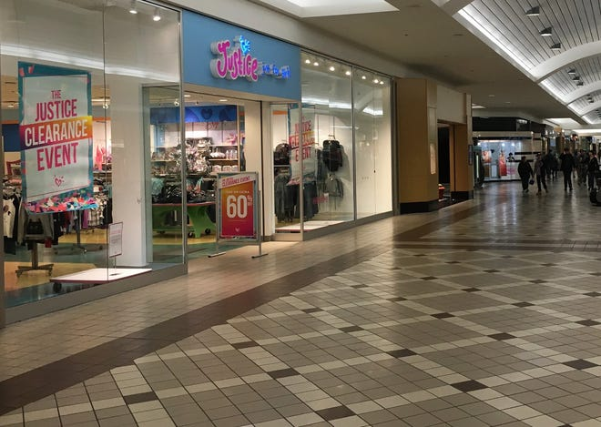 The Justice store in Fort Gratiot's Birchwood Mall is slated for closure on  Jan. 26, 2019.