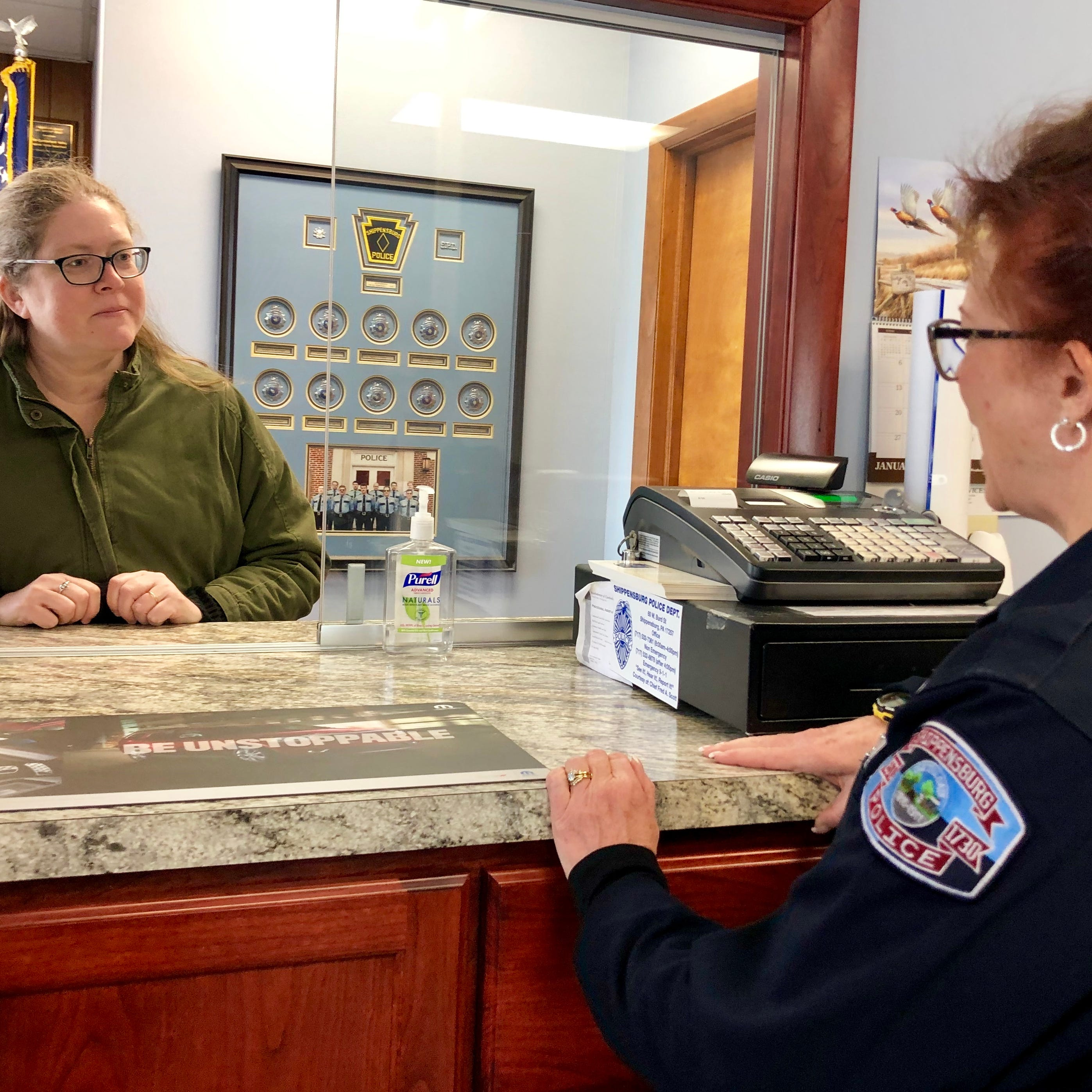 For Franklin County's first female police chief, gender plays limited role on the job