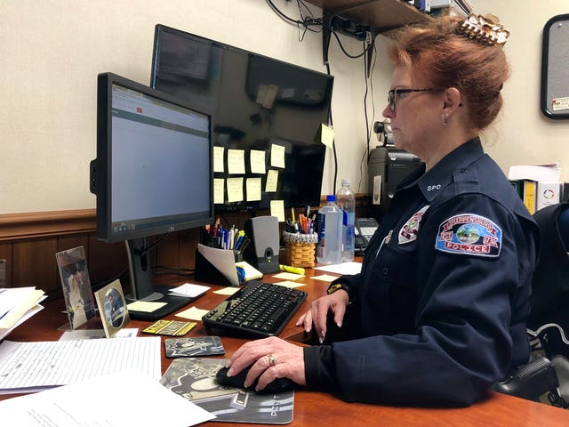 Franklin County's first female police chief says gender