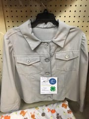 This hand-sewn jacket was created by Rebekah Aldrich, Chambersburg, and entered in this year's Pennsylvania Farm Show. Rebekah received a blue ribbon for her hard work.