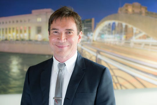Alex Stettinski, executive director for the Downtown Reno Partnership