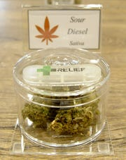 A wide variety of products are available at Fernley's new dispensary.