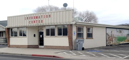 The Yerington Police Department is moving into the old Information Center on Main Street.