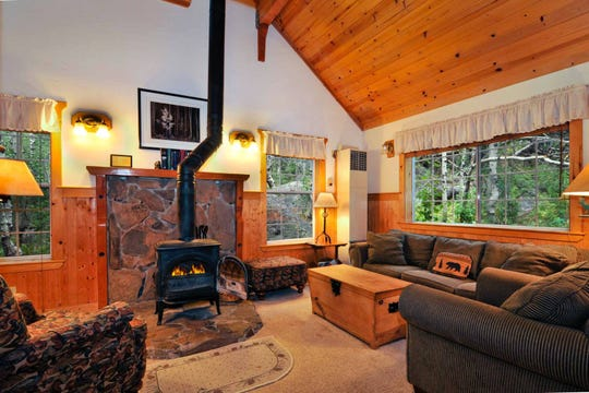 Some lodging at Sorensen's Resort is roomy enough for a family.