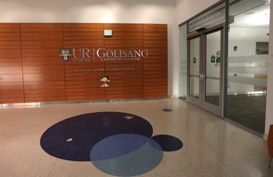 University of Rochester Golisano Children's Hospital internal entrance.