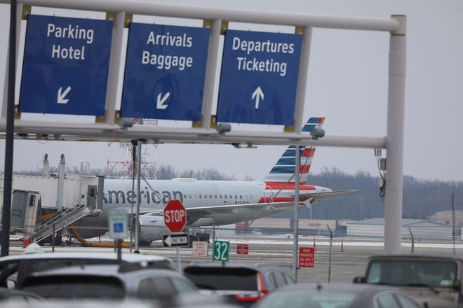 The Greater Rochester International Airport.