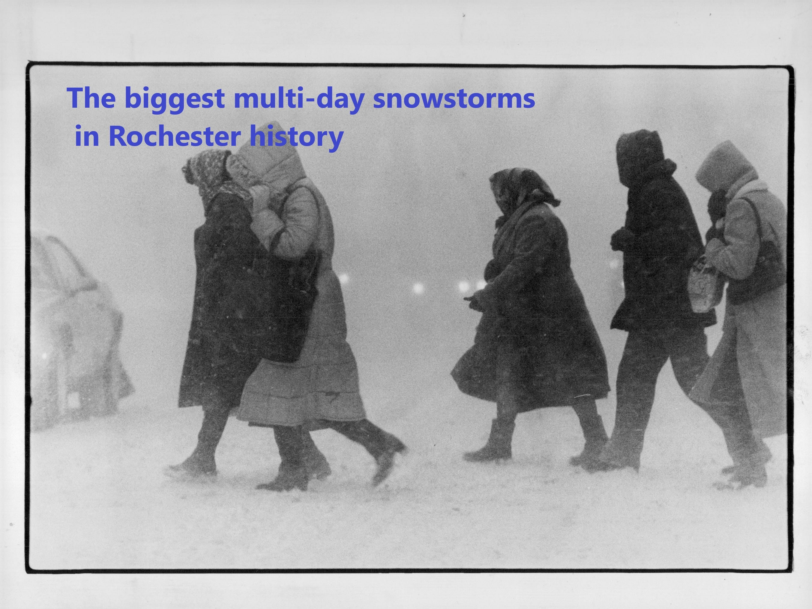 The five biggest snowstorms ever