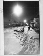 Malvern Street in Rochester on Feb. 29, 1984.