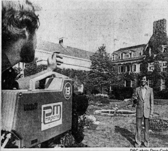 PM Magazine on location, as seen in a 1980 Democrat and Chronicle article.