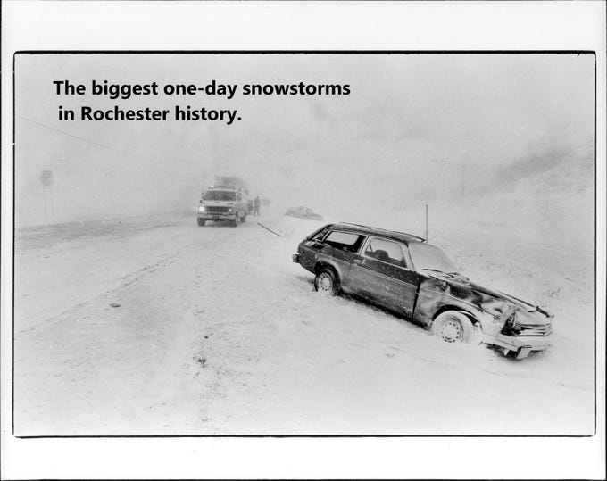 The five biggest one-day snowfalls ever.