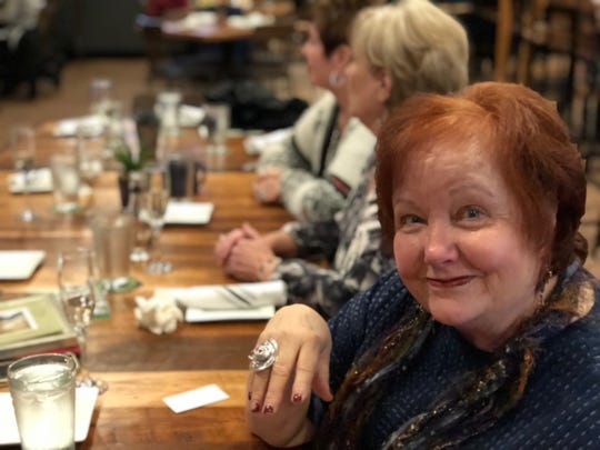 "Kristin Moore, who arranged a farewell party for her friend Diane Barry, says C.R. Gibbs is ""my favorite restaurant."""