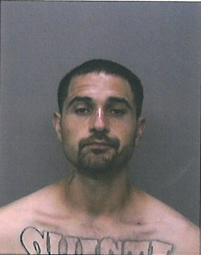 Derrick Wayne Horn is featured on the list after Shasta County authorities said he was arrested 6 times and had four new charges in 2018. The call types included evading a peace officer, vehicle theft, domestic violence, weapons possession and resisting arrest.