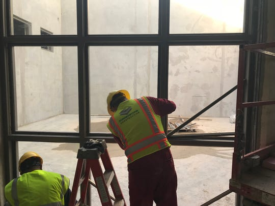 Construction on schedule at new Tom Green County Jail