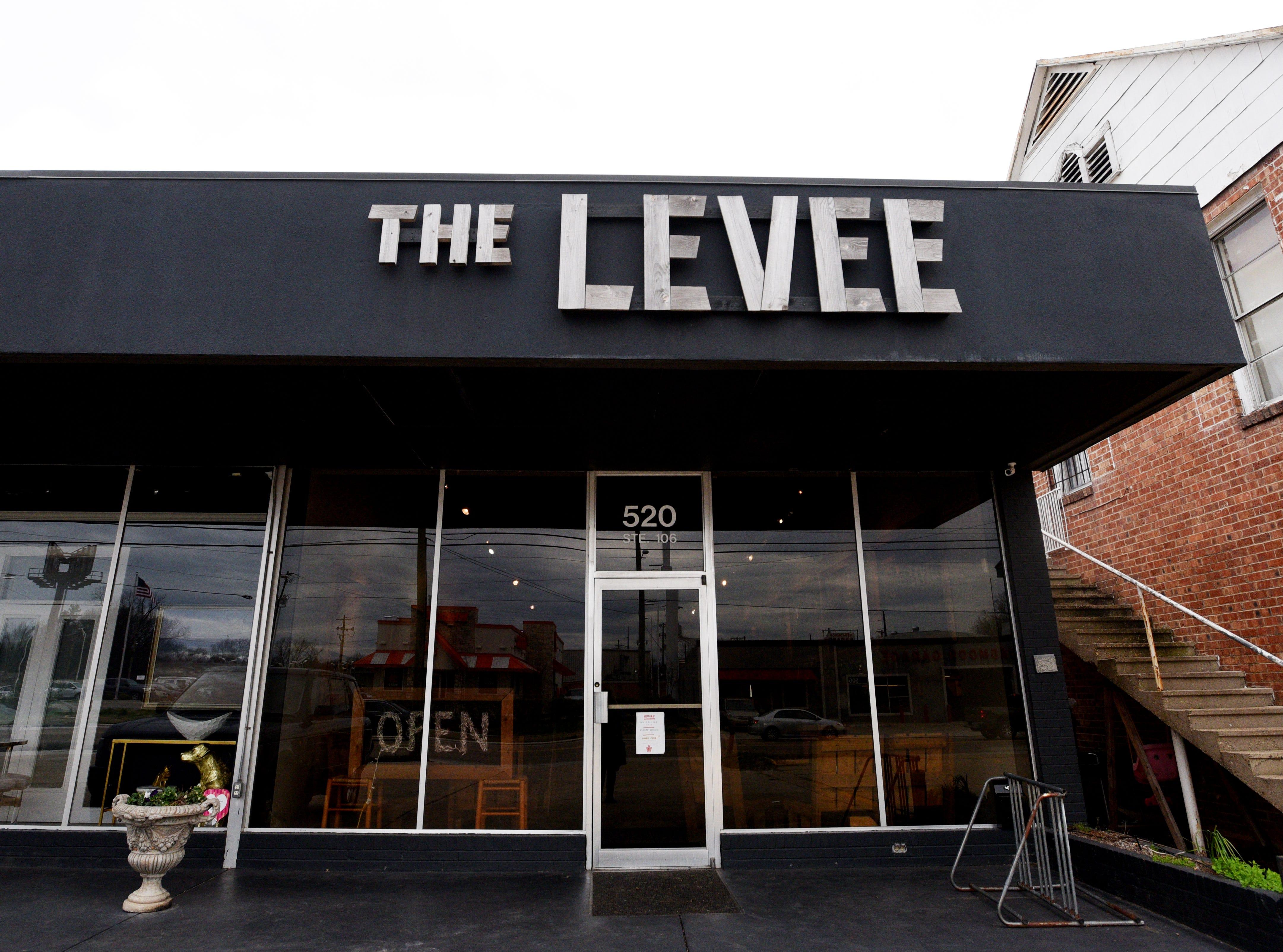 The Levee restaurant on East Kings Highway in Shreveport.