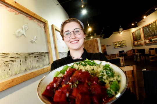 Cullen Folks is a new chef at The Levee restaurant on East Kings Highway in Shreveport.